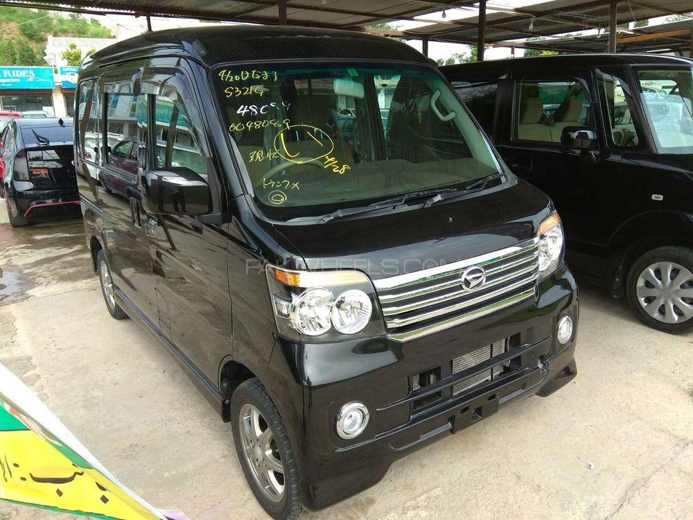 Daihatsu Atrai Wagon CUSTOM TURBO R BLACK EDITION 2012 Image-1