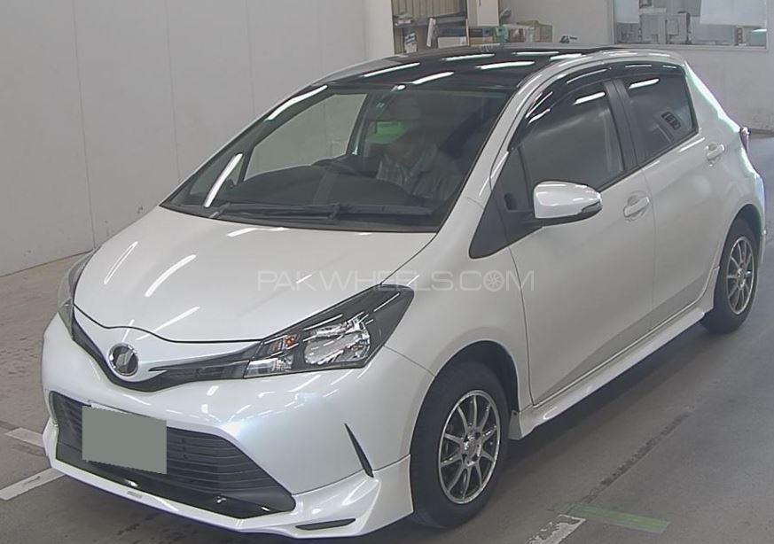 Toyota Vitz F1.0 (Facelift) 2014 Image-1