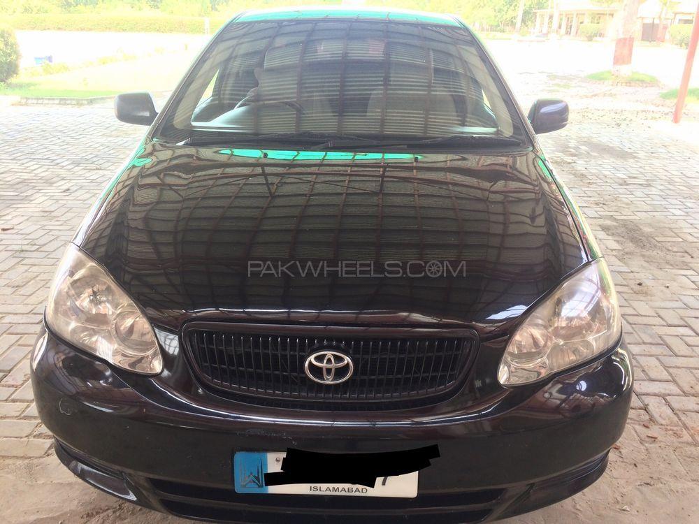 Toyota Corolla XLi VVTi Limited Edition 2008 Image-1