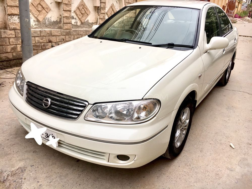 Nissan Sunny Super Saloon Automatic 1.6 2008 Image-1