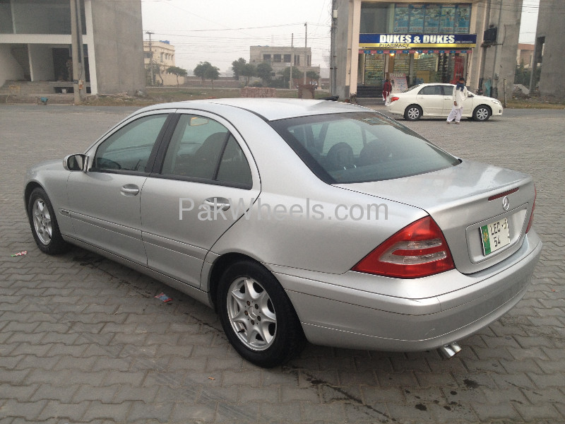 mercedes benz c class c180 kompressor 2002 for sale in lahore pakwheels. Black Bedroom Furniture Sets. Home Design Ideas