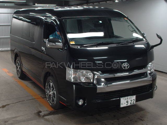 Toyota Hiace Mid-Roof 2.7 2014 Image-1