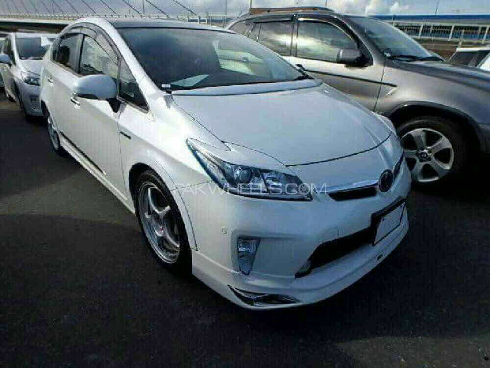 Toyota Prius S Touring Selection My Coorde 1.8 2014 Image-1