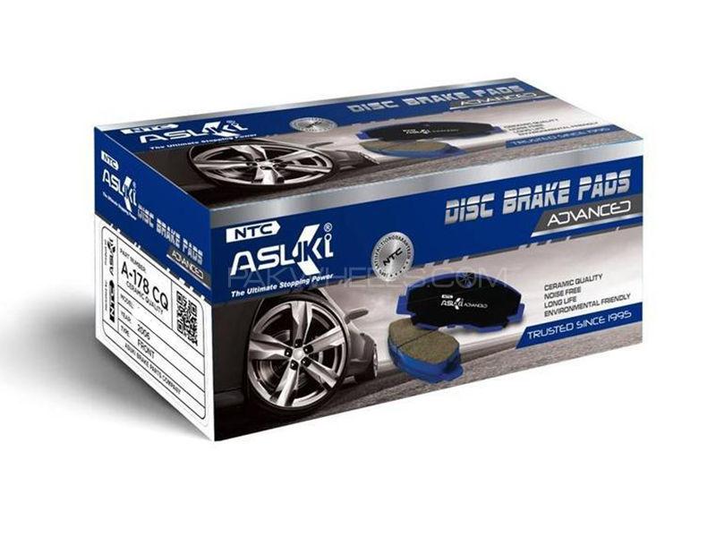 Toyota Prius Alpha 2012 Asuki Advanced Brake Pads Front Ceramic Technology A-73 AD in Karachi