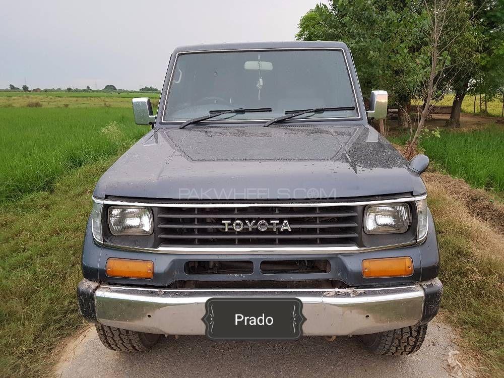 Toyota Prado RZ 3.0D (3-Door) 1991 Image-1