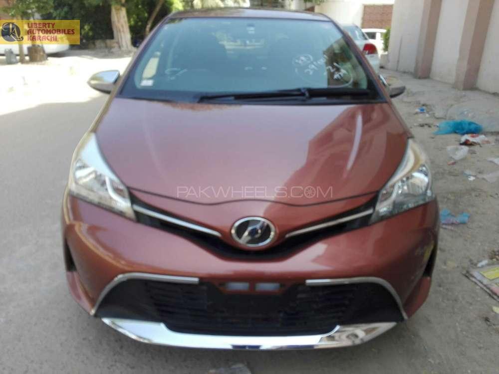 Toyota Vitz Jewela Smart Stop Package 1.0 2014 Image-1