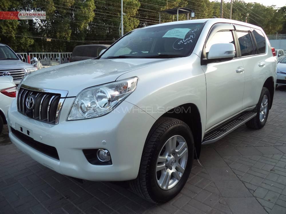 Used Toyota Prado TZ 4.0 2012