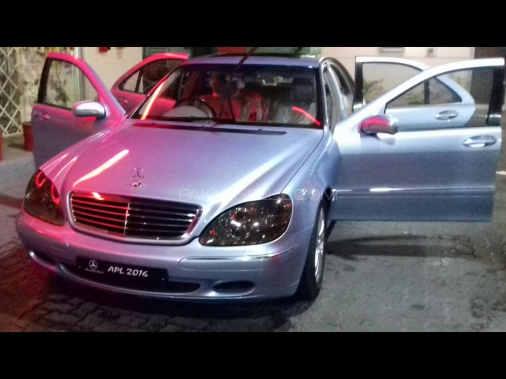 mercedes benz s class s500 2002 for sale in lahore pakwheels. Black Bedroom Furniture Sets. Home Design Ideas
