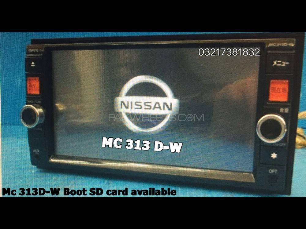Nissan MC 313 D-W Boot SD card available