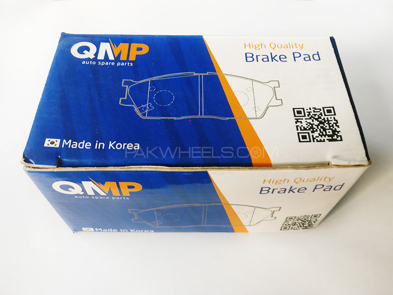 QMP Rear Toyota Corolla 2008-2014 Brake Pads - Korean  in Lahore