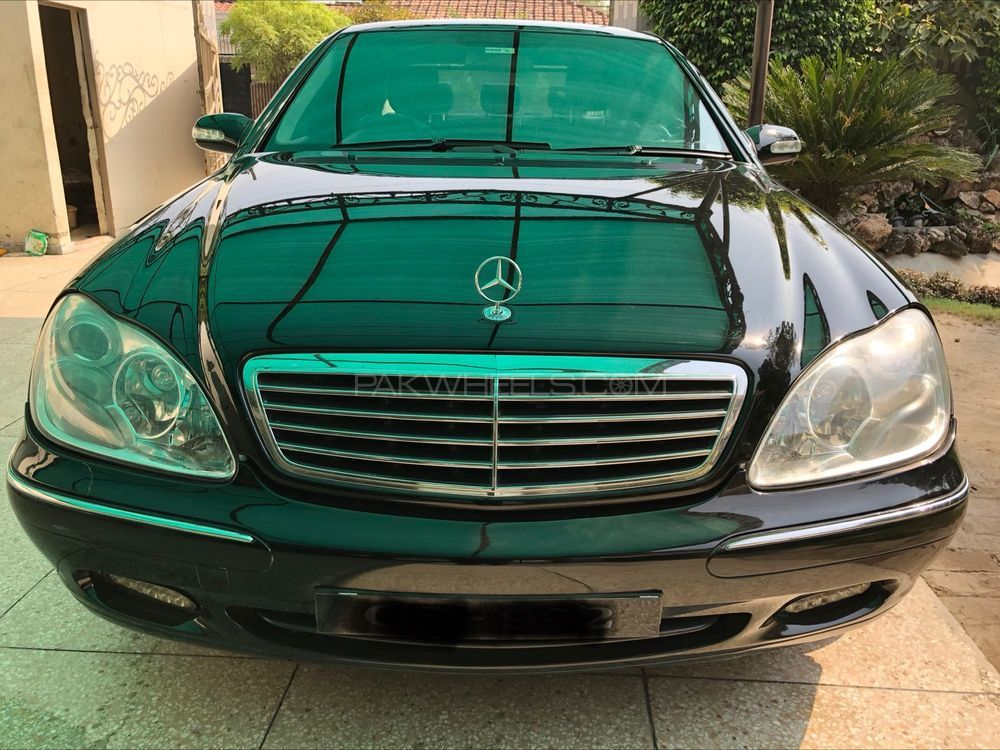 Mercedes Benz S Class S 320 2002 Image-1