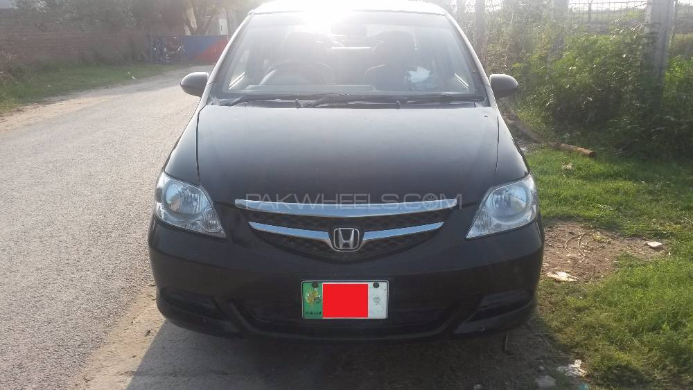 Honda city 2006 black