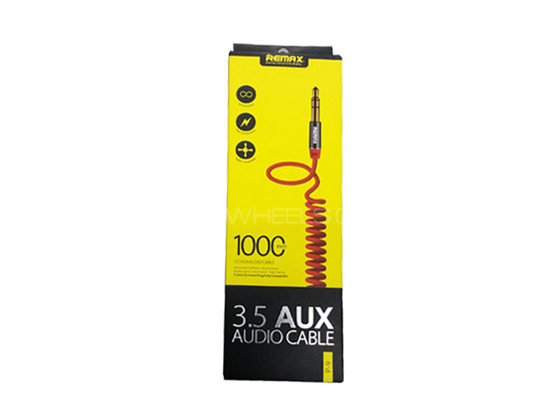 Remax 3.5 Aux Cable Flexible in Lahore