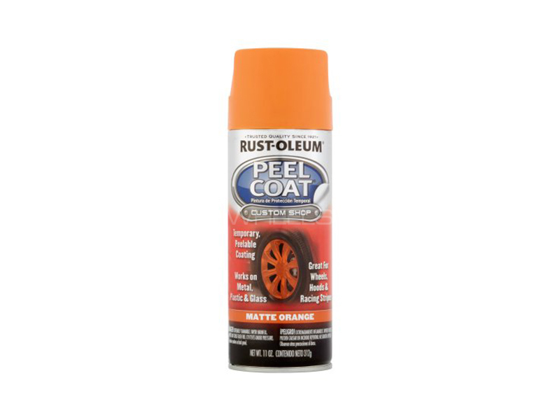 Rust-Oleum Peel Coat - Rubber Paint Matte Orange in Lahore