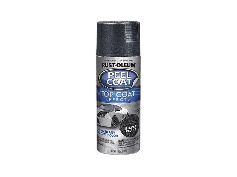 Rust-Oleum Peel Coat - Rubber Paint Silver Flake Image-1