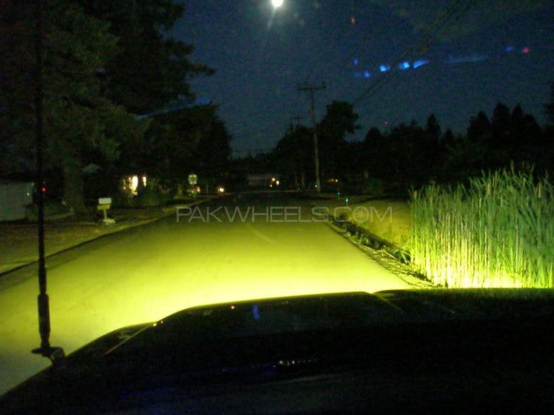 BioLight 100/90w Fog Busters Yellow Bulbs H4 1pc Image-1
