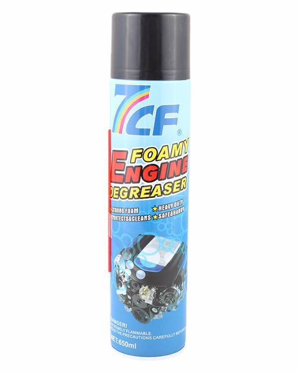 7CF Foamy Engine Degreaser - 650ml Image-1