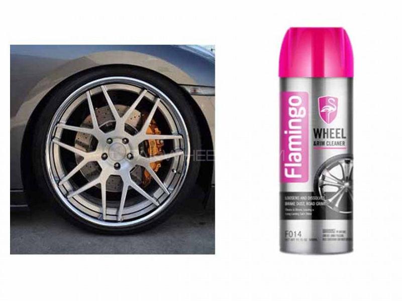 Flamingo Wheel Cleaner Image-1