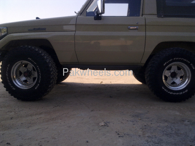 BF Goodrich Mud terrain tyres and Japenese Hollow Alloys Image-3