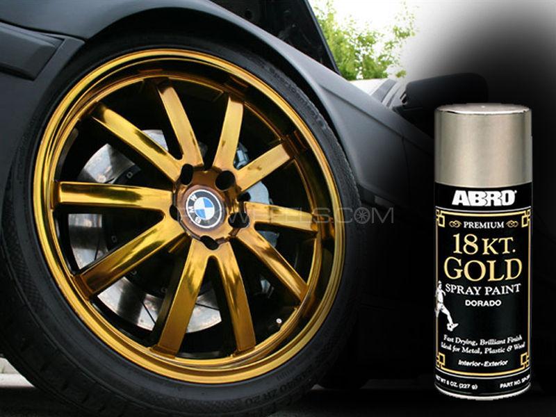 buy abro premiun 18kt gold spray paint in pakistan pakwheels. Black Bedroom Furniture Sets. Home Design Ideas