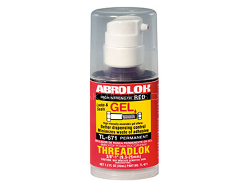 ABRO Threadlock Gel Permanent - 35 ml Image-1