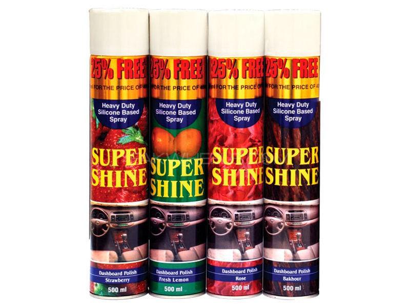 Loozen Super Shine Dashboard Polish Spray - 500 ml Image-1