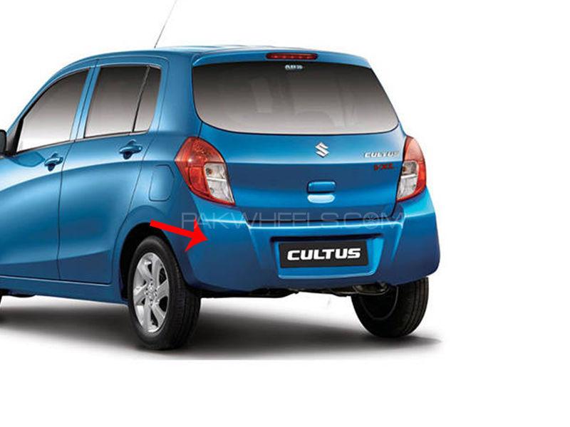 Suzuki Cultus 2017-2018 Genuine Rear Bumper  Image-1