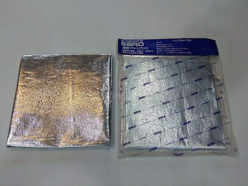 Aluminum Foil Sound & Heat Deadening Sheet in Karachi