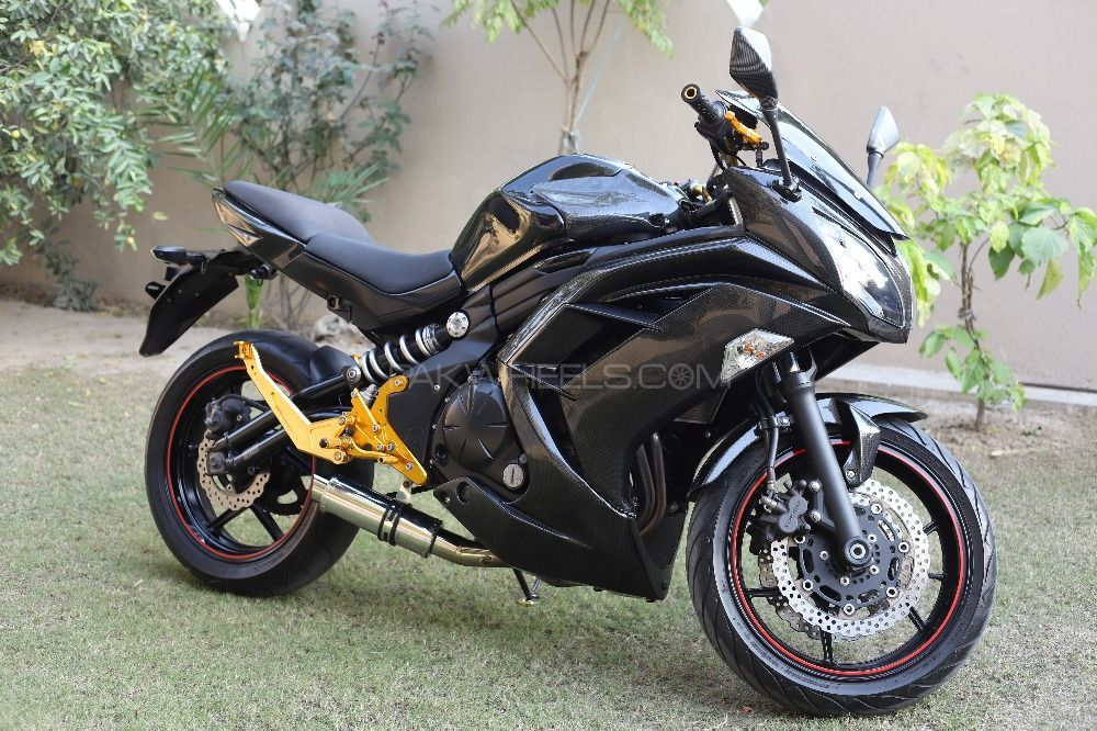 used kawasaki ninja 650r 2014 bike for sale in lahore 206728 pakwheels. Black Bedroom Furniture Sets. Home Design Ideas