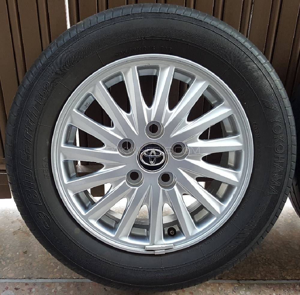 15 Inch Tires >> Toyota Genuine Japaneese 15 Inch Alloy Rims Tyres Set