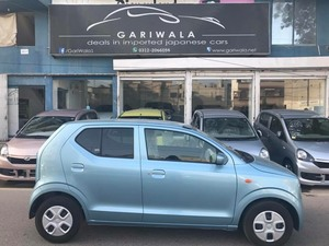 ®GARIWALA® Suzuki Alto, eNe-CHARGE Technology,  660C.c, Blue, S Package,  Model 2016, Fresh cleared/import 2018, Original 10,855 K.M ( Verifiable ),  Original 5-A Grade Auction sheet ( verifiable ), Key Start, Power Windows,  Retractable Mirrors, Auto - assist radar system, Heated Seat, Power-steering, Company CD player, Air bags, ABS Braking System, Air-Bags Original Tyre, Traction Control,