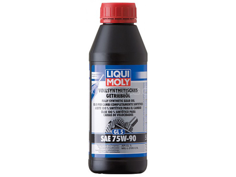 LIQUI MOLY High Perform Gear Oil GL4+75w-90 Synth - 1 Litre Image-1