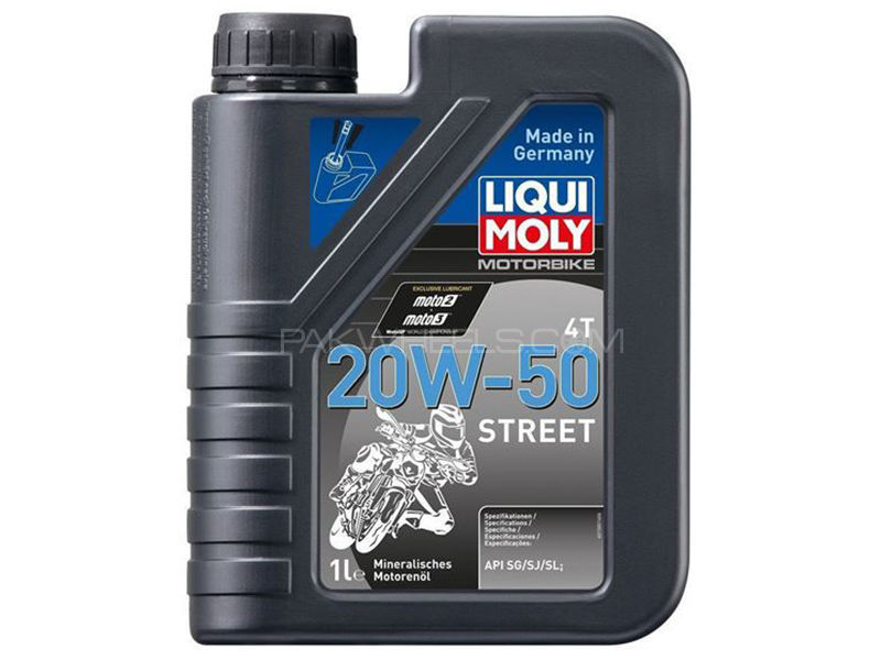 LIQUI MOLY Racing 4T 20w50 Motorcycle Oil - 1 Litre Image-1