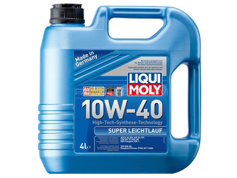 LIQUI MOLY Super Leichtlauf 10w-40 API-SL - 4 Litre in Karachi