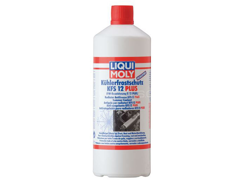 LIQUI MOLY Radiator Antifreeze RAF 12 Red - 1 Litre Image-1
