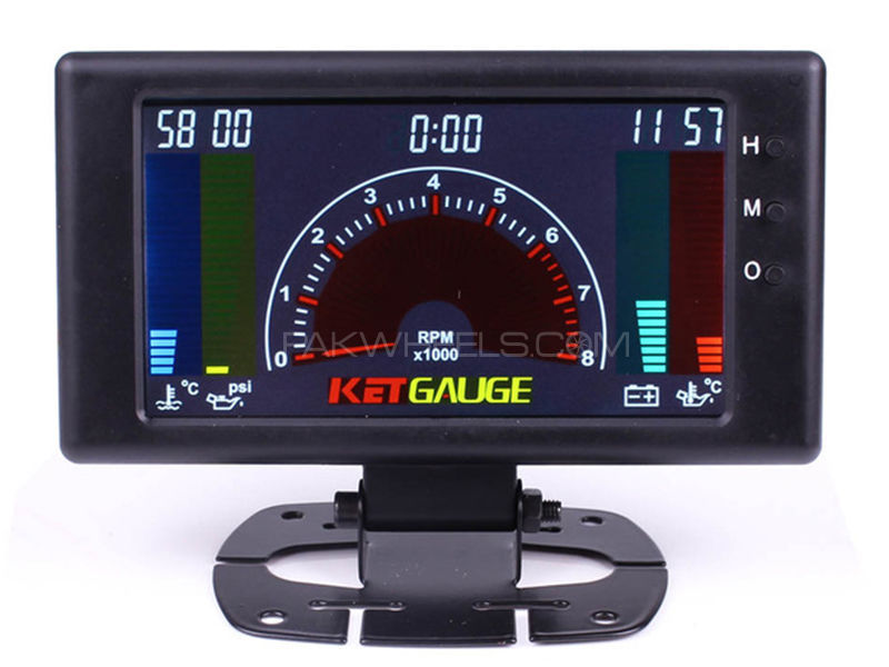 KET Gauge LCD Six In One in Karachi