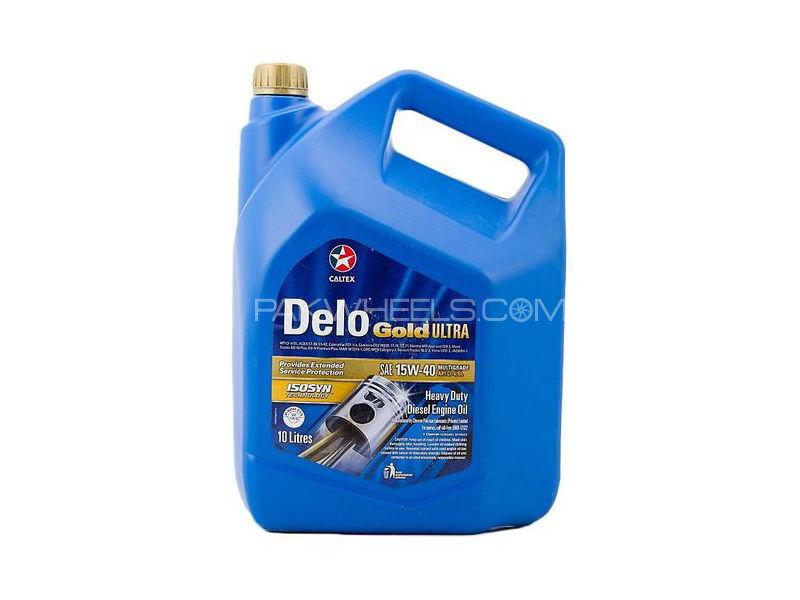Caltex Delo Gold Ultra SAE 15w40 10L Image-1
