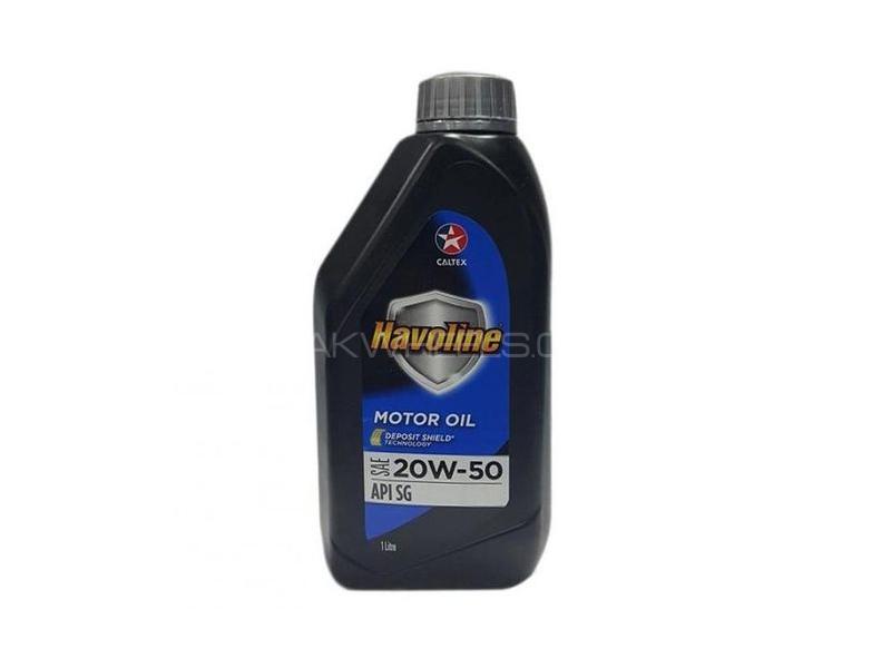 Havoline Motor Oil SAE 20W-50 1L Image-1