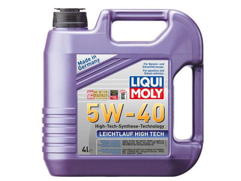 LIQUI MOLY Leichtlauf High Tech 5w-40 API-SN - 4 Litre Image-1
