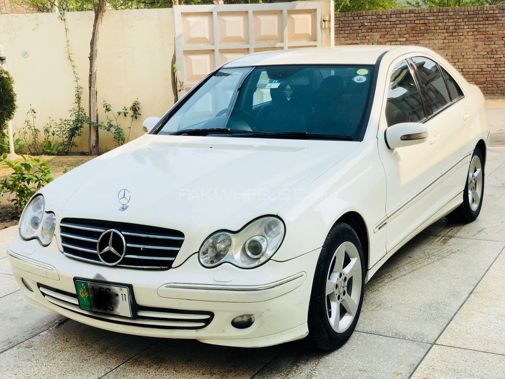 Mercedes benz c class c180 2006 for sale in faisalabad for Mercedes benz c class 2006 for sale