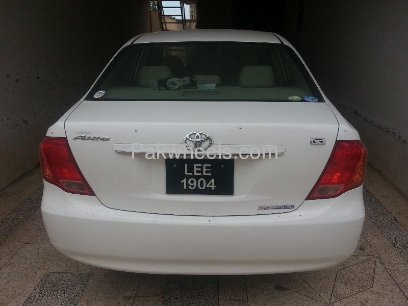 Toyota Corolla Axio G 2007 Image-4