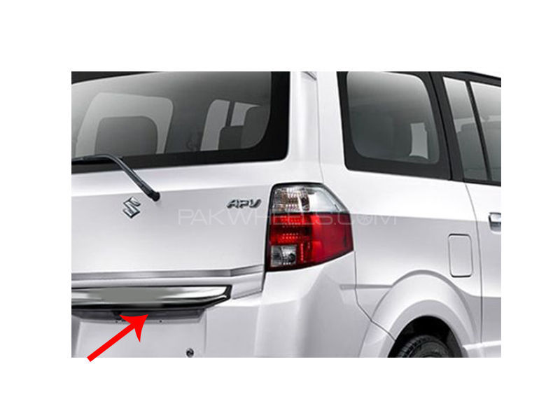 Suzuki New APV Rear Trunk Garnish Chrome in Lahore