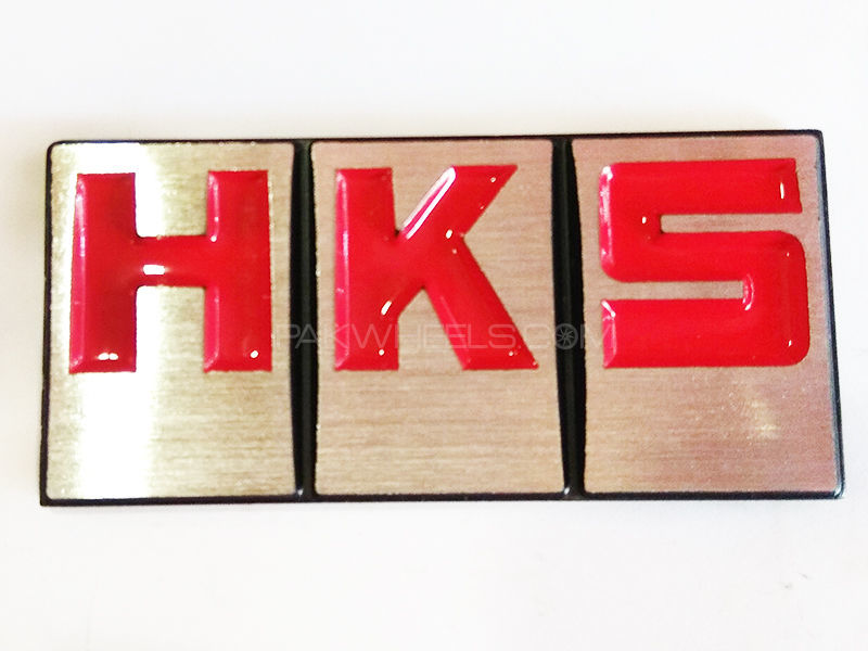 HKS Imboze Sticker Red Image-1