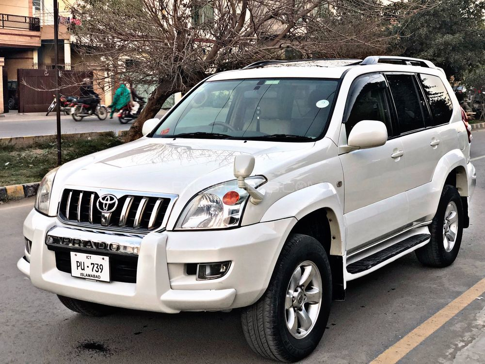 Used Toyota Prado for Sale at Sigma Motors Lahore ...