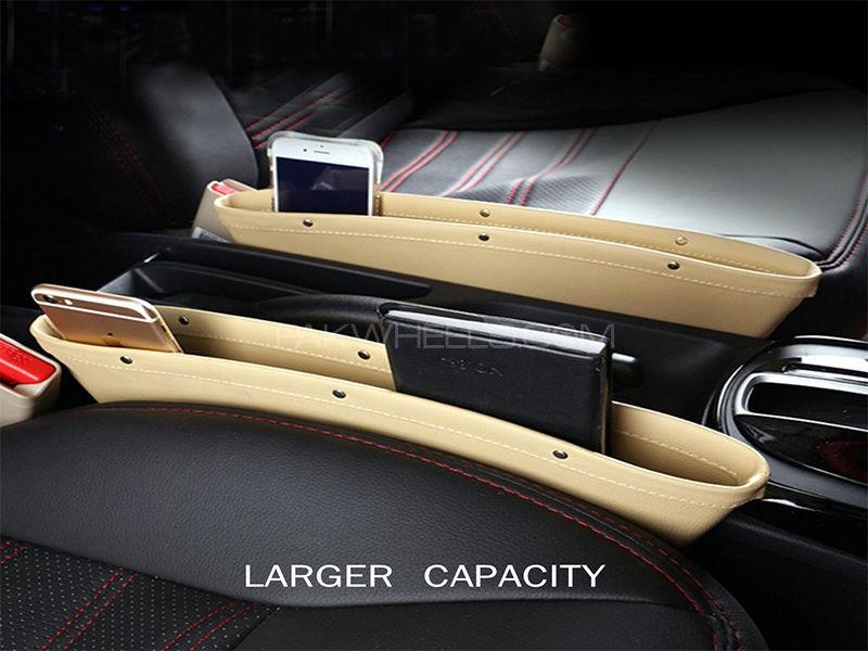 Car Seat Catcher Magic Box Beige