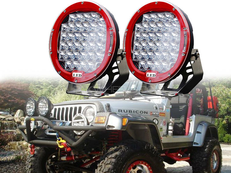 4x4 Night Vision LED Lights Set  in Lahore