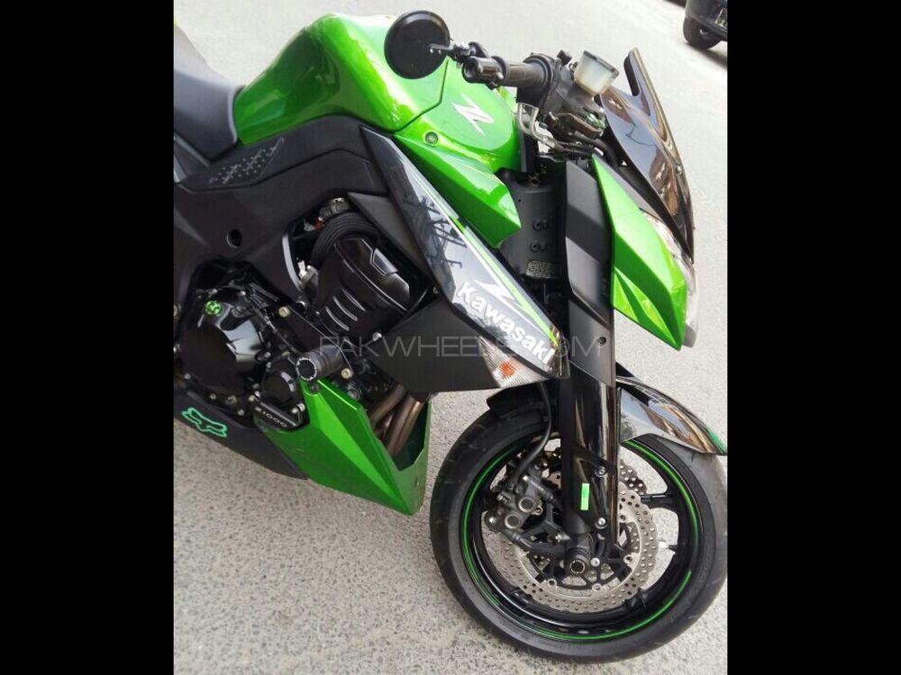 Kawasaki Z1000 2013 Image-1