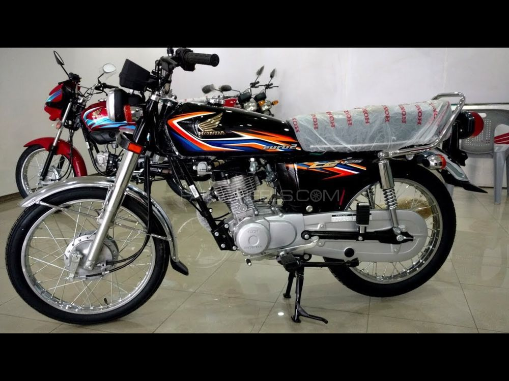 used honda cg 125 2018 bike for sale in gujranwala 211866 pakwheels. Black Bedroom Furniture Sets. Home Design Ideas