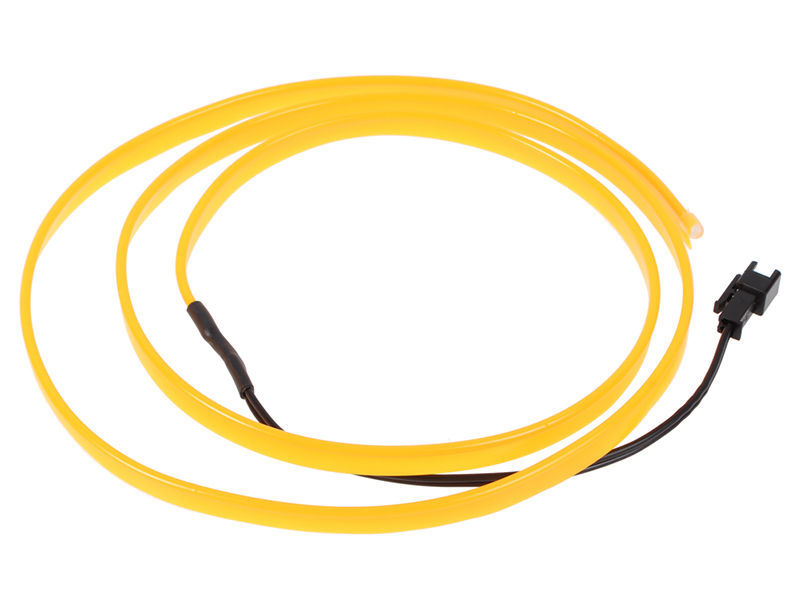 Universal EL Glow Wire - Yellow in Karachi