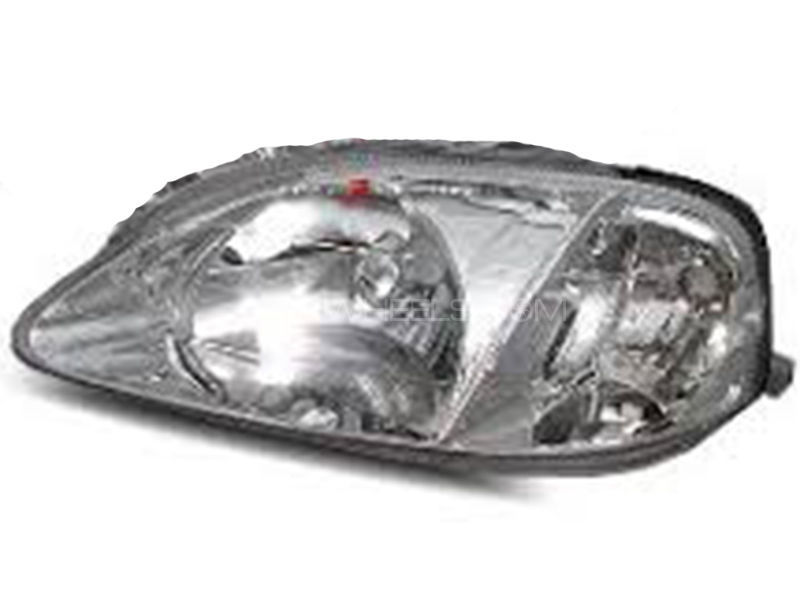 Honda Civic TYC Head Lamp 1999-2000 - 1 Pc LH Image-1